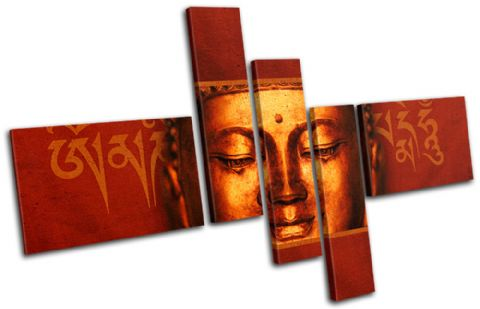 Buddha Peace Red Religion - 13-0590(00B)-MP18-LO